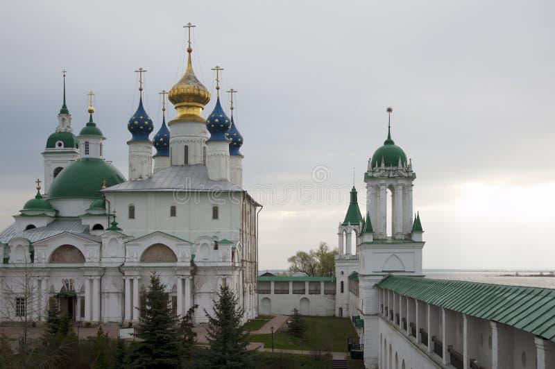 Ροστόφ. Τοίχοι μοναστηριών. Ρωσία στοκ εικόνα με δικαίωμα ελεύθερης χρήσης