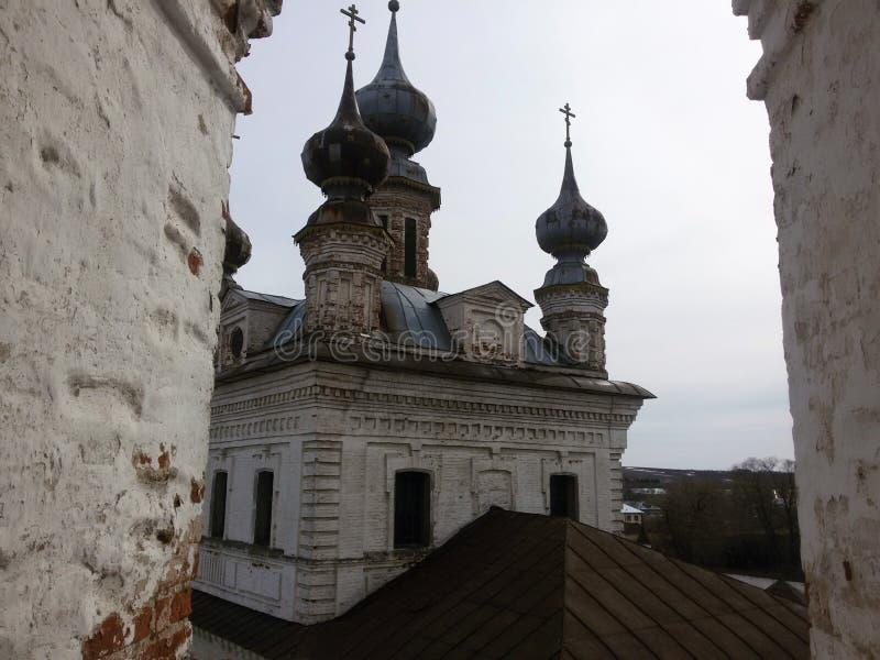 Ροστόφ το μεγάλο Κρεμλίνο το χειμώνα, χρυσό δαχτυλίδι, περιοχή Yaroslavl, τ στοκ φωτογραφίες