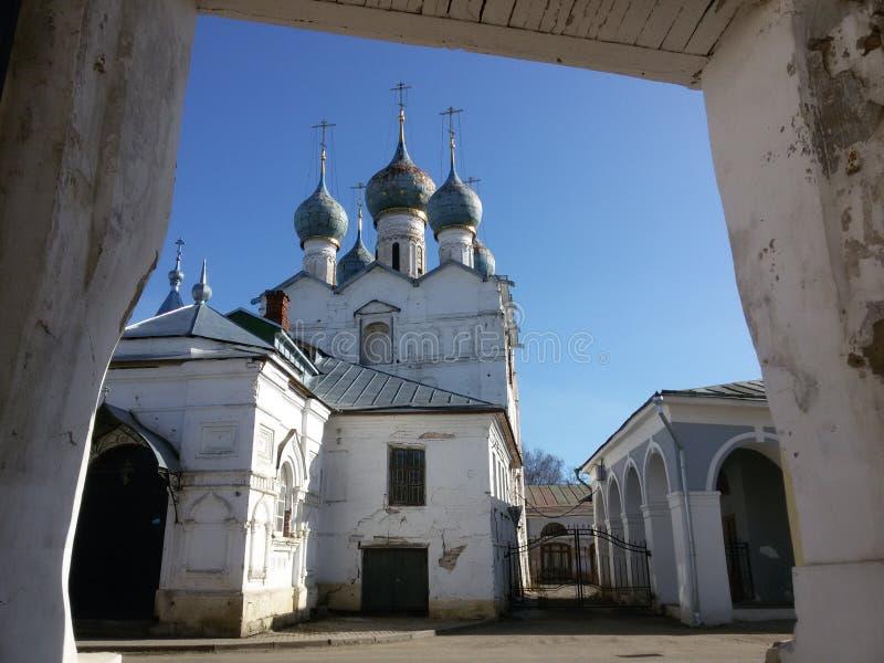 Ροστόφ το μεγάλο Κρεμλίνο το χειμώνα, χρυσό δαχτυλίδι, περιοχή Yaroslavl, τ στοκ εικόνες
