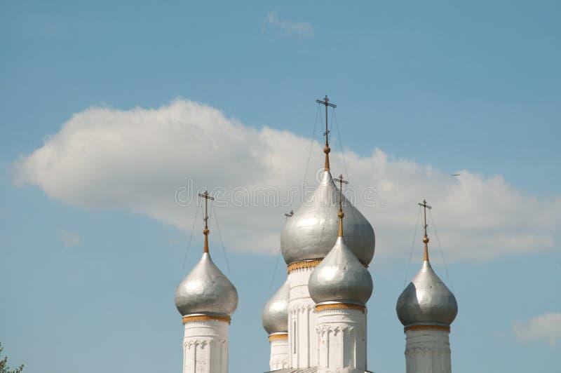 Ροστόφ το μεγάλο, μοναστήρι spaso-Yakovlevsky Dmitriev στοκ εικόνες
