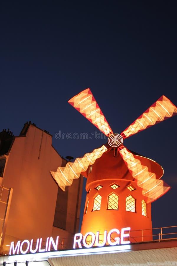 ρουζ moulin στοκ εικόνες