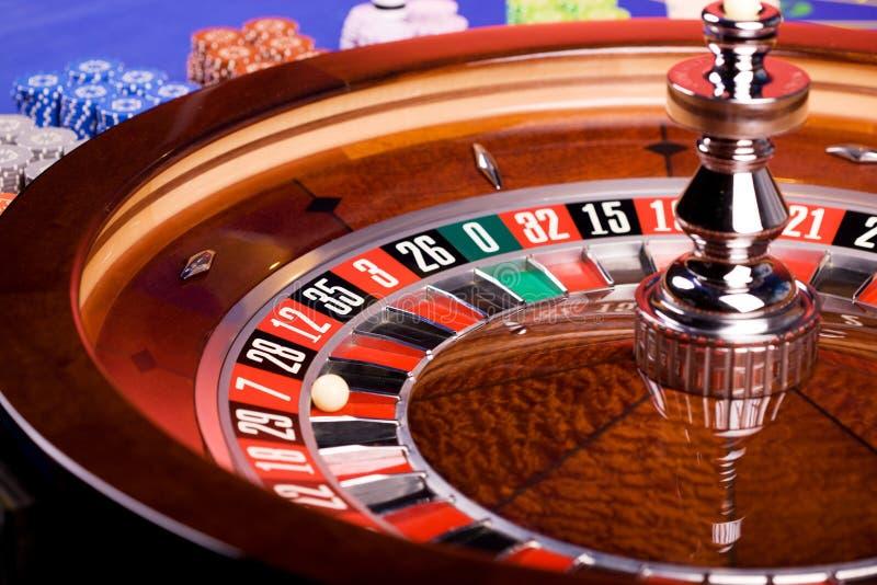 ρουλέτα χαρτοπαικτικών λεσχών στοκ φωτογραφία με δικαίωμα ελεύθερης χρήσης