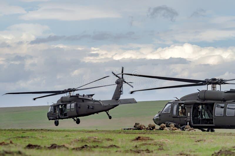Ρουμανία-ΝΑΤΟ-στρατός-ΑΣΚΗΣΗ στοκ φωτογραφία με δικαίωμα ελεύθερης χρήσης