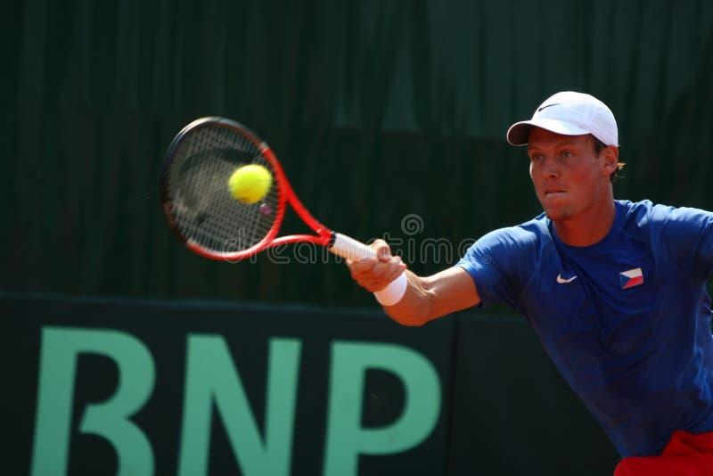 Ρουμανία-τσεχική Δημοκρατία, Davis Cup 2011 στοκ εικόνες