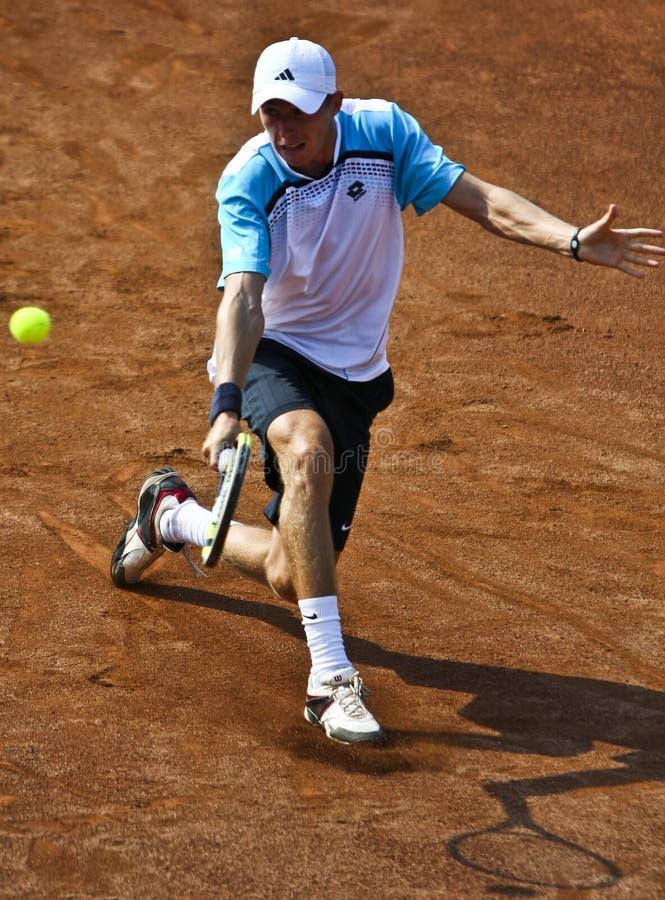 Ρουμανία-τσεχική Δημοκρατία, Davis Cup 2011 στοκ φωτογραφία με δικαίωμα ελεύθερης χρήσης