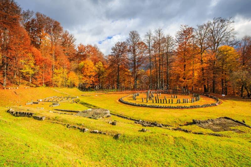 Ρουμανία, Sarmizegetusa Regia στοκ φωτογραφία με δικαίωμα ελεύθερης χρήσης