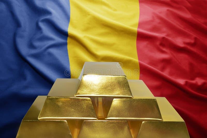 Ρουμανικές χρυσές επιφυλάξεις στοκ φωτογραφίες
