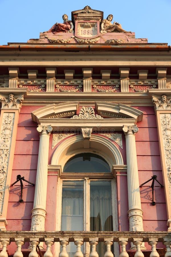 Ρουμανική αρχιτεκτονική στοκ φωτογραφίες