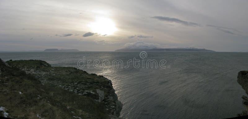 ρούμι Σκωτία νησιών νησιών canna skye στοκ εικόνες