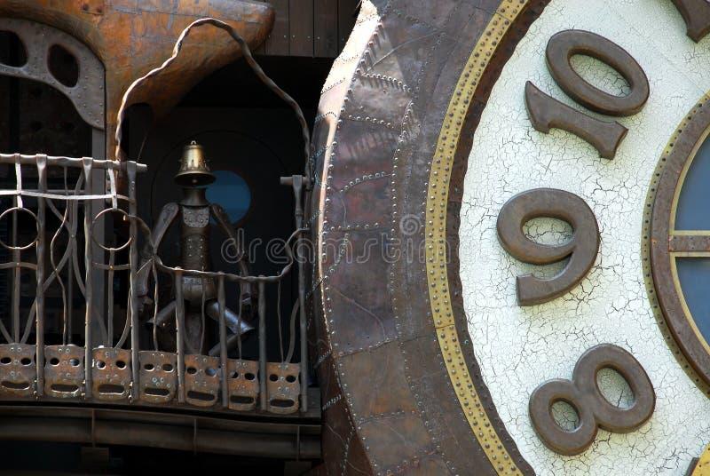 Ρολόι παραμυθιού στοκ φωτογραφία