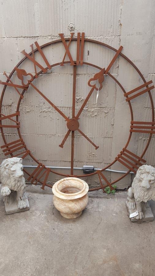 ρολόι σκουριασμένο στοκ εικόνα με δικαίωμα ελεύθερης χρήσης