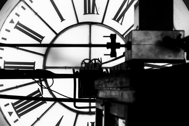 Ρολόι Townhall στοκ εικόνα με δικαίωμα ελεύθερης χρήσης