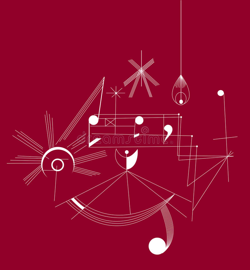 Ρυθμοί μουσικής (διάνυσμα) απεικόνιση αποθεμάτων