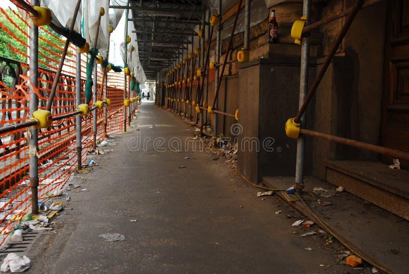 Ρυπαμένη οδός στοκ εικόνες