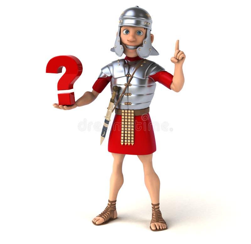 Ρωμαίος στρατιώτης απεικόνιση αποθεμάτων