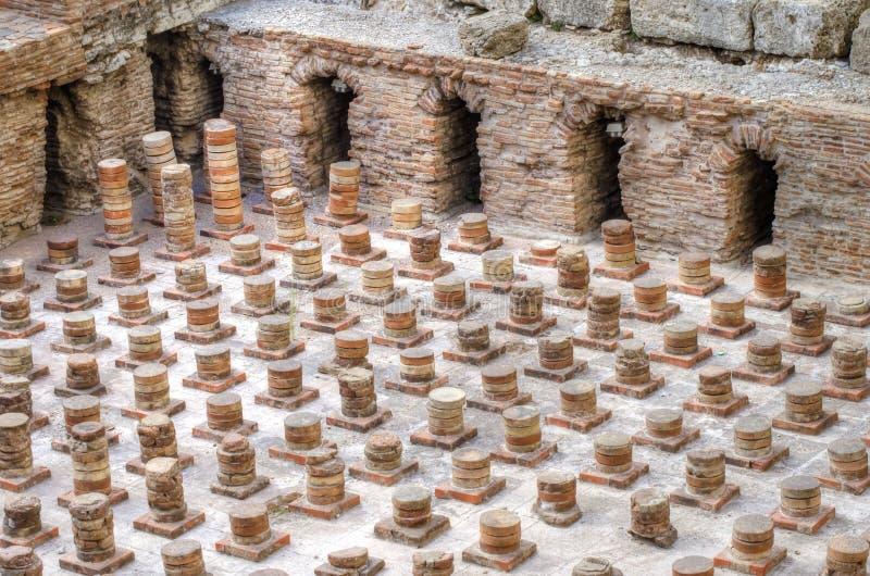 Ρωμαϊκά λουτρά στη Βηρυττό, Λίβανος στοκ φωτογραφία με δικαίωμα ελεύθερης χρήσης