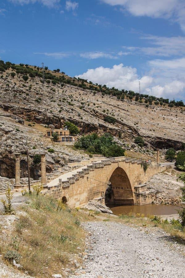Ρωμαϊκή γέφυρα σε Cendere στοκ φωτογραφίες