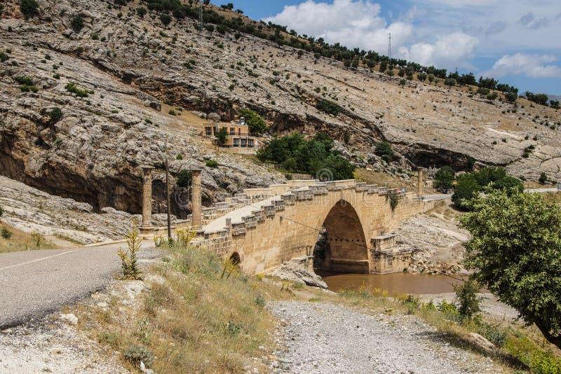 Ρωμαϊκή γέφυρα σε Cendere στοκ φωτογραφία