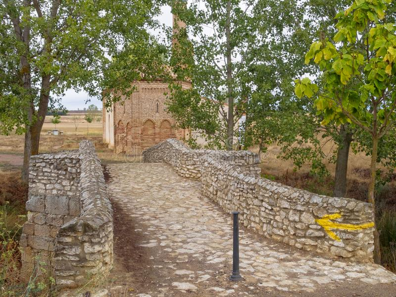 Ρωμαϊκή γέφυρα - Sahagun στοκ εικόνες με δικαίωμα ελεύθερης χρήσης