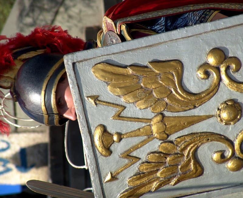 ρωμαϊκός πολεμιστής στοκ φωτογραφίες