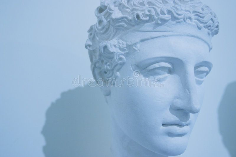 ρωμαϊκό άγαλμα στοκ εικόνες