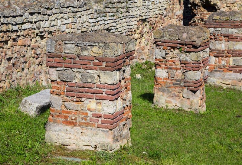 Ρωμαϊκό φρούριο σε Kula †«μέσα στοκ φωτογραφία με δικαίωμα ελεύθερης χρήσης