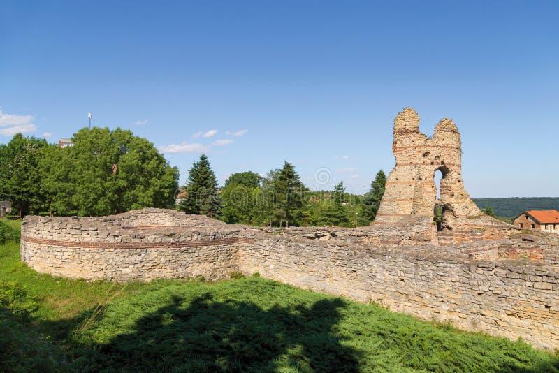 Ρωμαϊκό φρούριο σε Kula †«Castra Martis στοκ εικόνα με δικαίωμα ελεύθερης χρήσης