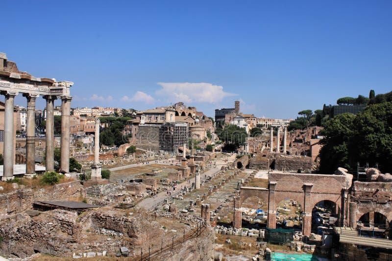 Ρωμαϊκό φόρουμ στοκ φωτογραφίες με δικαίωμα ελεύθερης χρήσης