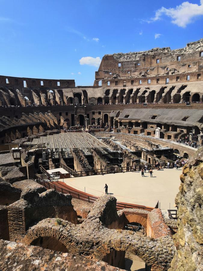 Ρωμαϊκό coliseum στοκ φωτογραφίες
