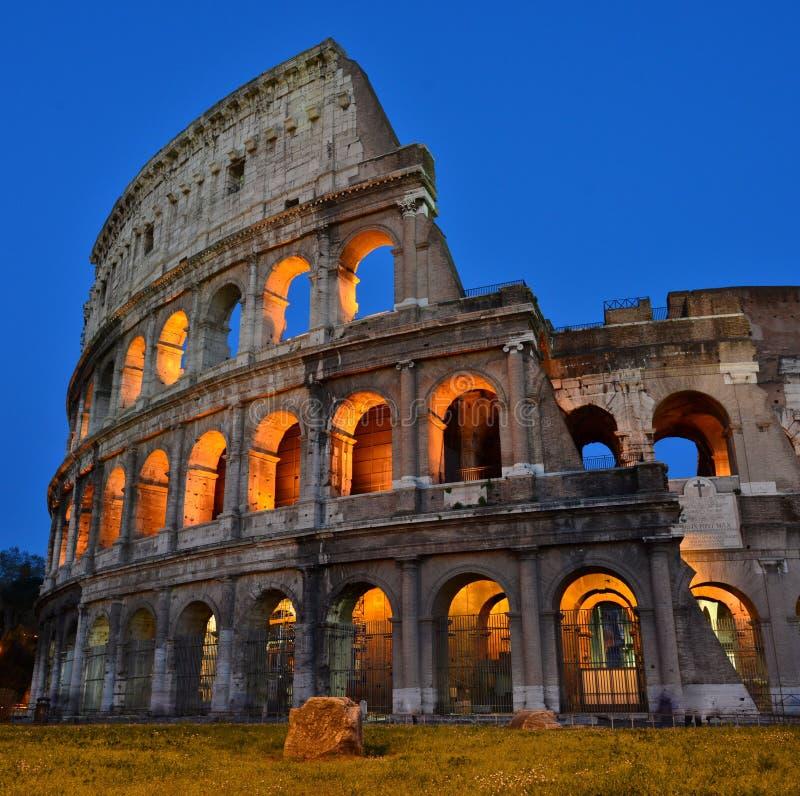 Ρωμαϊκό colosseum, Ρώμη, Ιταλία στοκ φωτογραφία
