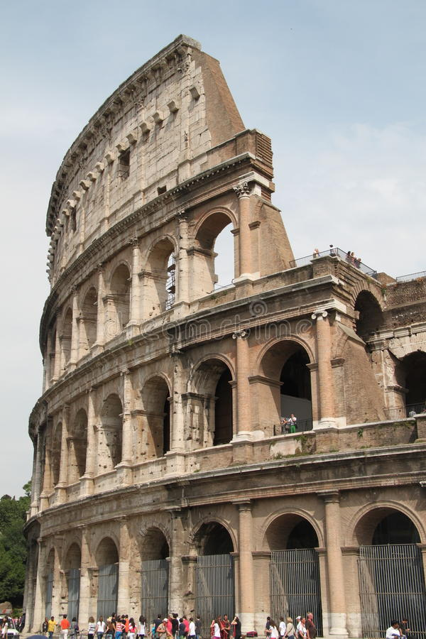 Ρωμαϊκό Colosseum, Coliseum της Ρώμης Ιταλία στοκ εικόνα