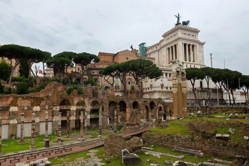 ΡΩΜΗ, ΙΤΑΛΙΑ - APRILL 21, 2019: Άποψη στους λόφους Capitoline στοκ εικόνες