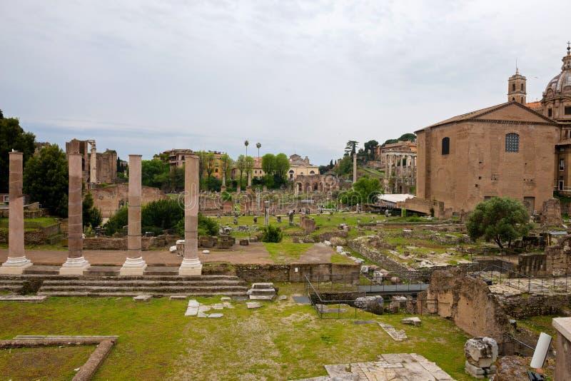 ΡΩΜΗ, ΙΤΑΛΙΑ - APRILL 21, 2019: Άποψη στους λόφους Capitoline στοκ φωτογραφίες με δικαίωμα ελεύθερης χρήσης