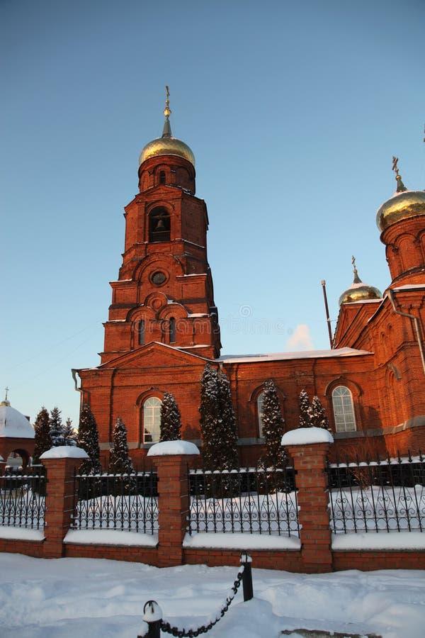 Ρωσία Δημοκρατία της Μορντβά, η εκκλησία του Άγιου Βασίλη στο Σαράνσκ στοκ φωτογραφία με δικαίωμα ελεύθερης χρήσης