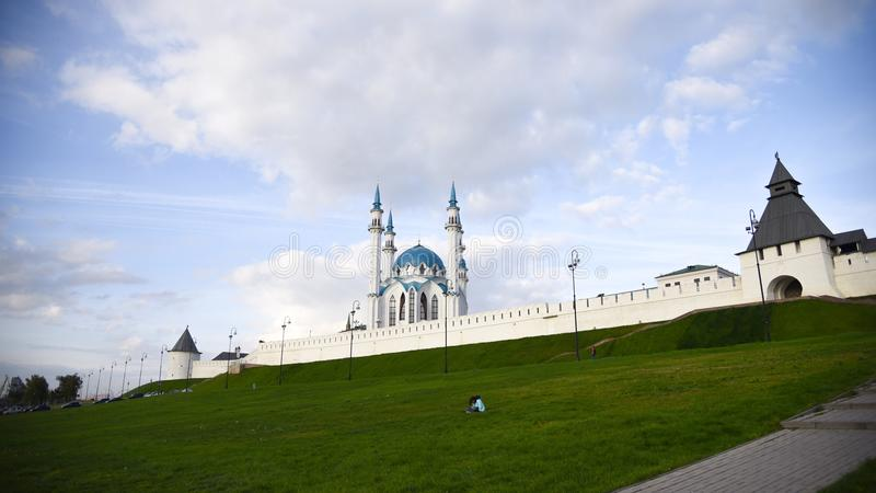 Ρωσία Kazan Κρεμλίνο στοκ εικόνες με δικαίωμα ελεύθερης χρήσης