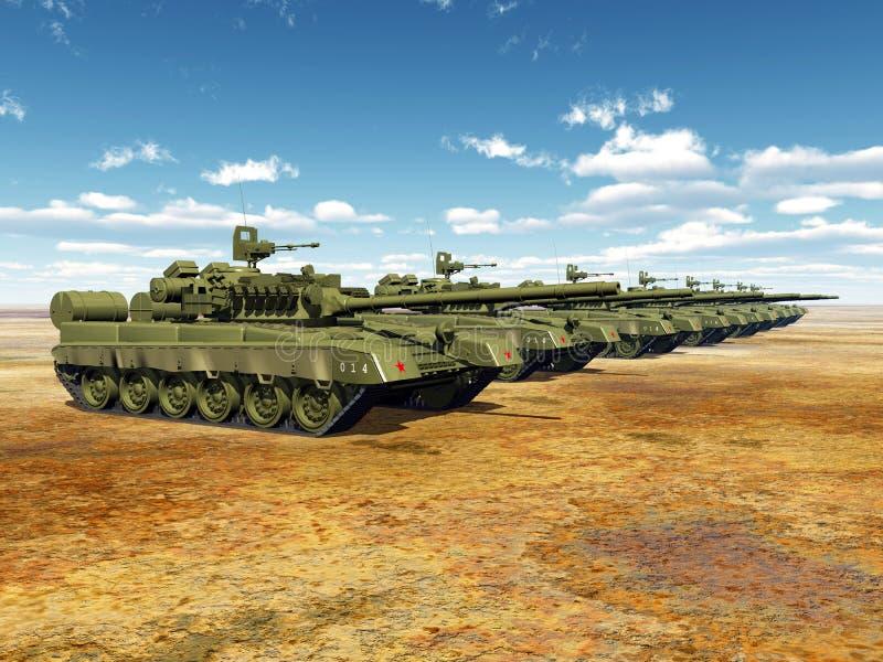 Ρωσικές κύριες δεξαμενές μάχης απεικόνιση αποθεμάτων