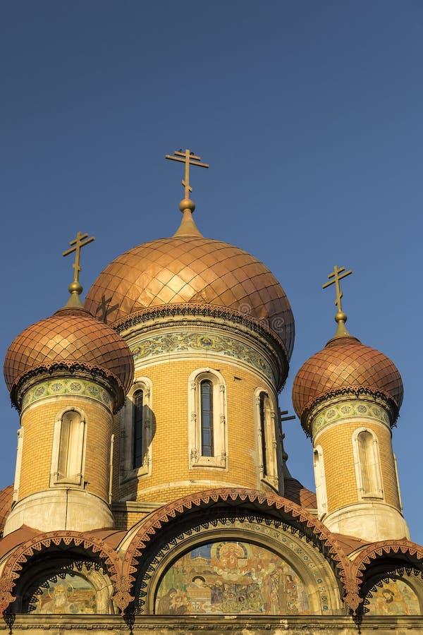 Ρωσική εκκλησία στοκ εικόνα με δικαίωμα ελεύθερης χρήσης