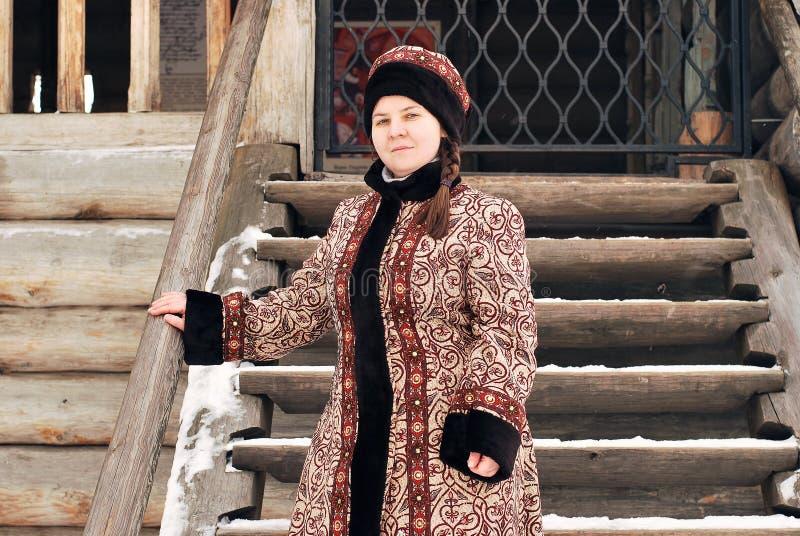 Ρωσική ευγενής γυναίκα στοκ εικόνα