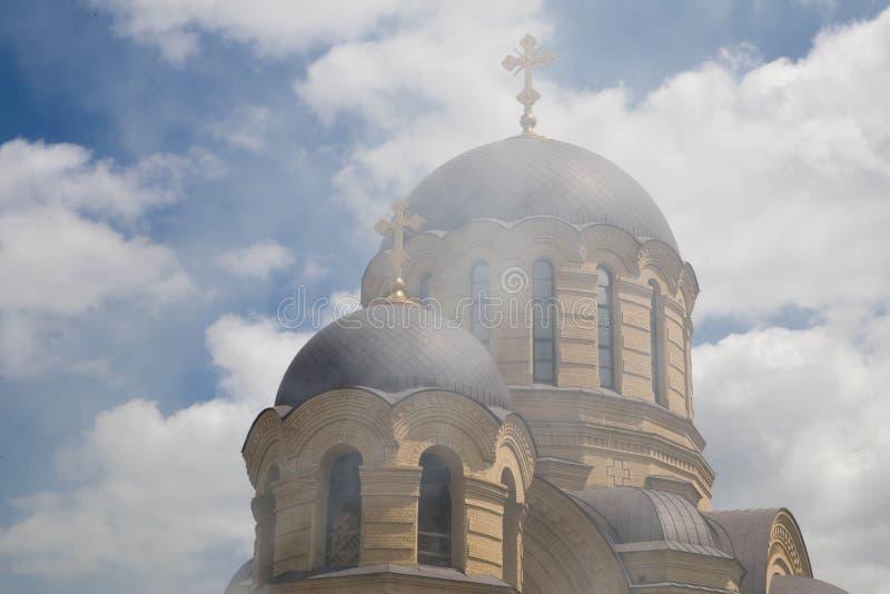 Ρωσική Ορθόδοξη Εκκλησία στοκ εικόνα