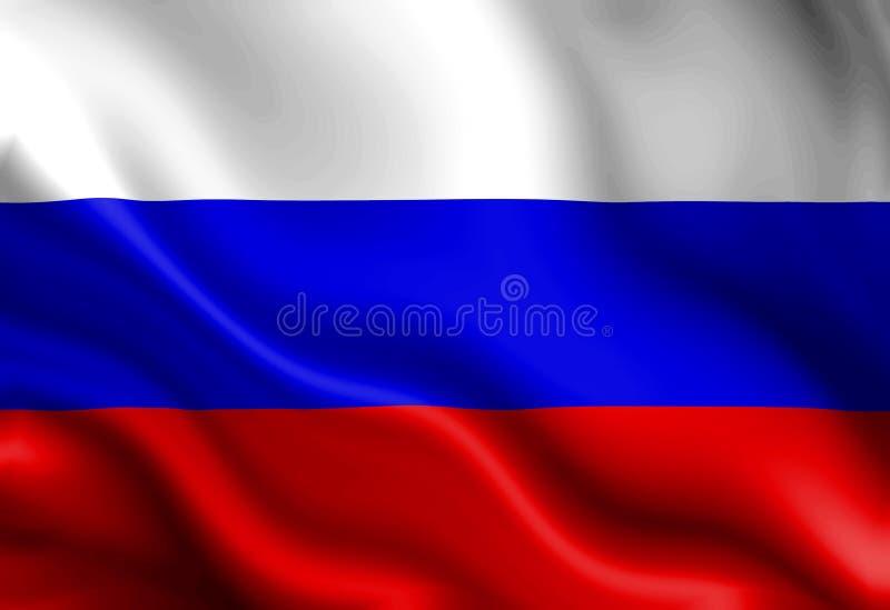 Ρωσική σημαία απεικόνιση αποθεμάτων