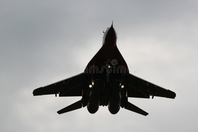 Ρωσική aerobatic ομάδα κύψελλοων στοκ φωτογραφία με δικαίωμα ελεύθερης χρήσης