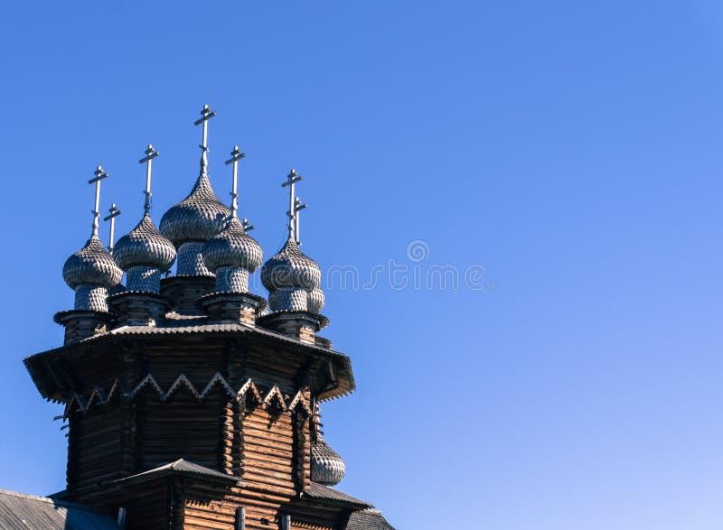 Ρωσικοί ορθόδοξοι θόλοι στον ήλιο στοκ φωτογραφία με δικαίωμα ελεύθερης χρήσης