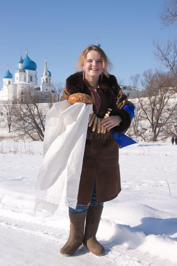 ρωσικός παραδοσιακός κ&omic στοκ φωτογραφία με δικαίωμα ελεύθερης χρήσης