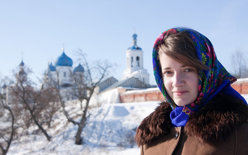 ρωσικός παραδοσιακός μα& στοκ φωτογραφία με δικαίωμα ελεύθερης χρήσης