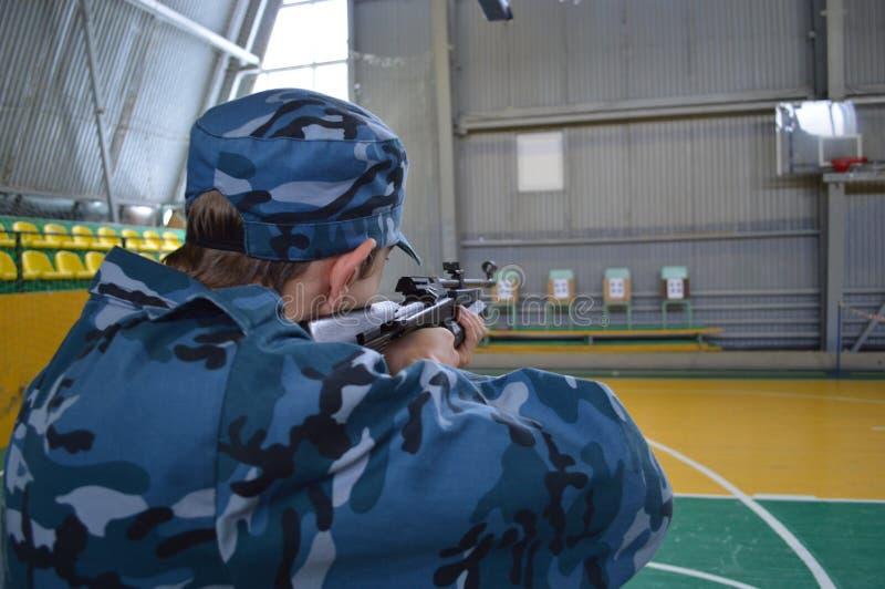 Ρωσικός πιό solfier στοκ εικόνα