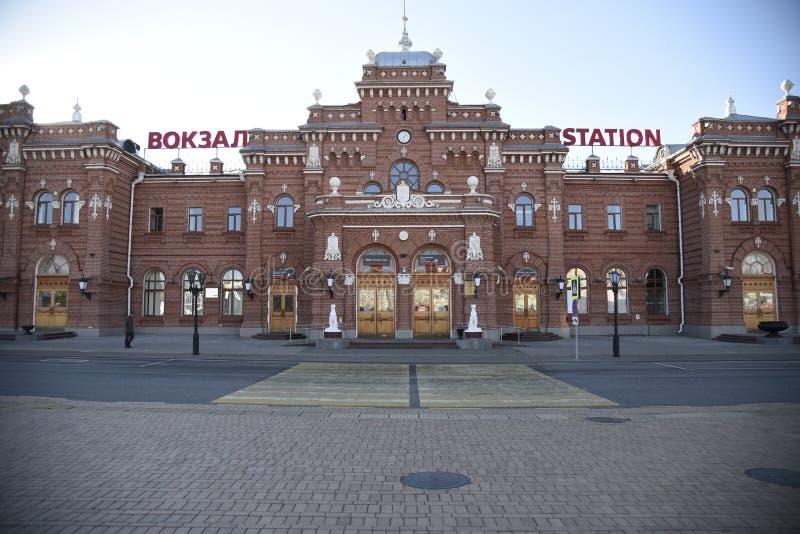 Ρωσικός σταθμός τρένου kazan στοκ εικόνες με δικαίωμα ελεύθερης χρήσης