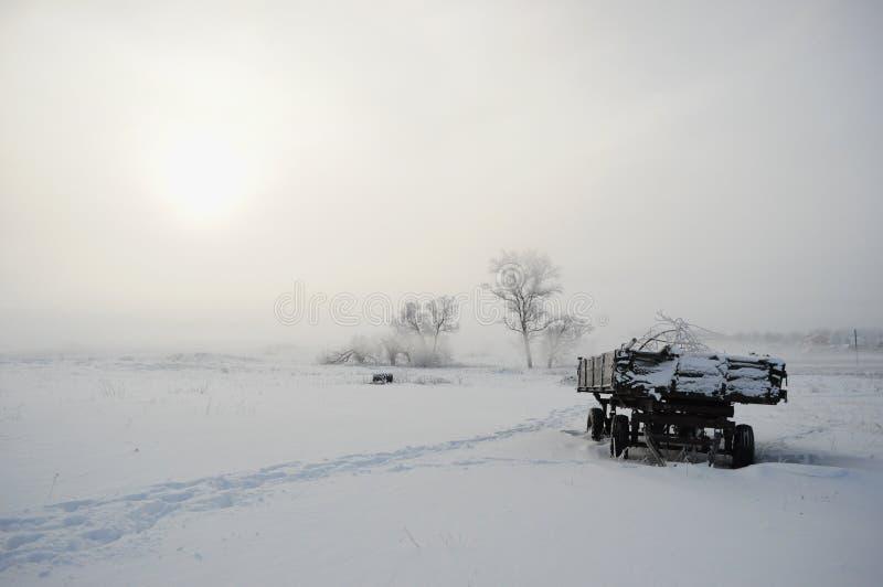 Ρωσικός χειμώνας 5 στοκ φωτογραφία