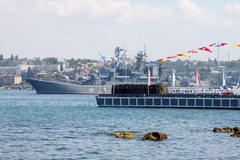 Ρωσικό προσγειωμένος σκάφος Novocherkassk στοκ εικόνες με δικαίωμα ελεύθερης χρήσης