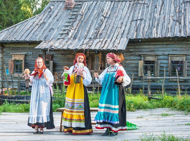Ρωσικό φεστιβάλ λαογραφίας στοκ εικόνες