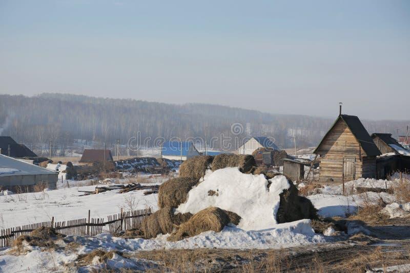 Ρωσικό χωριό 002 στοκ εικόνες με δικαίωμα ελεύθερης χρήσης